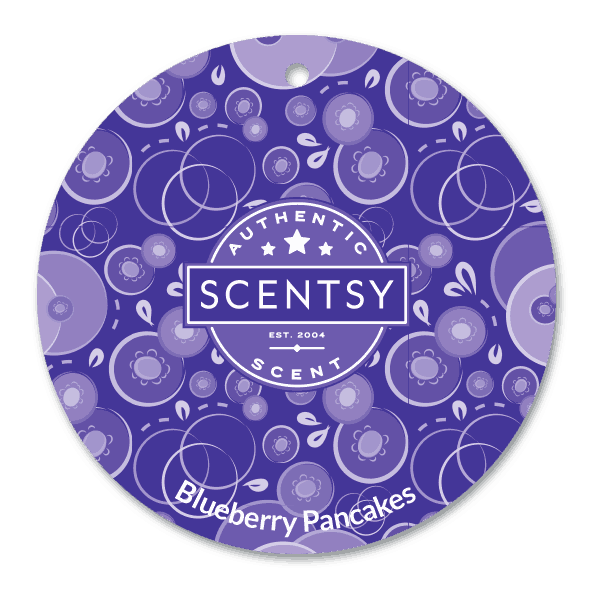 scentsy blueberry pancakes scent circle