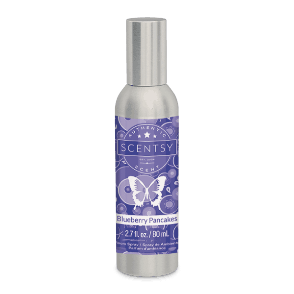 scentsy blueberry pancakes scent spray