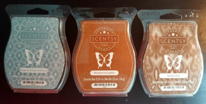 scentsy mid-century father's day bundle three limited edition scents