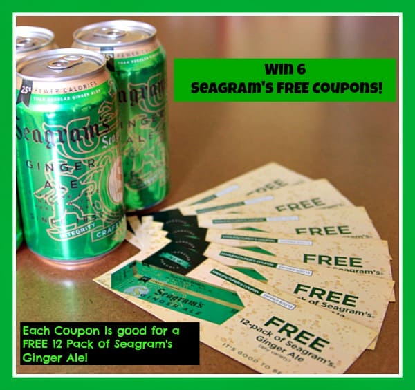 seagram's ginger ale prize