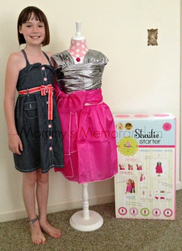 shailie finished dress