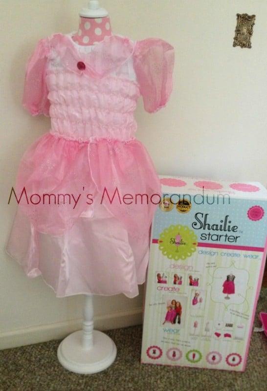 shailie pink dress