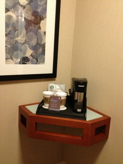 sheraton kansas city coffee