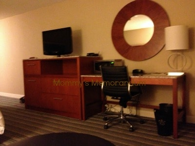 sheraton kansas city work area