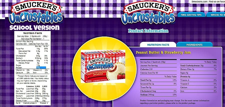 smuckers crustable