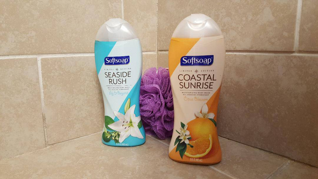 softsoap limited edition summer body wash