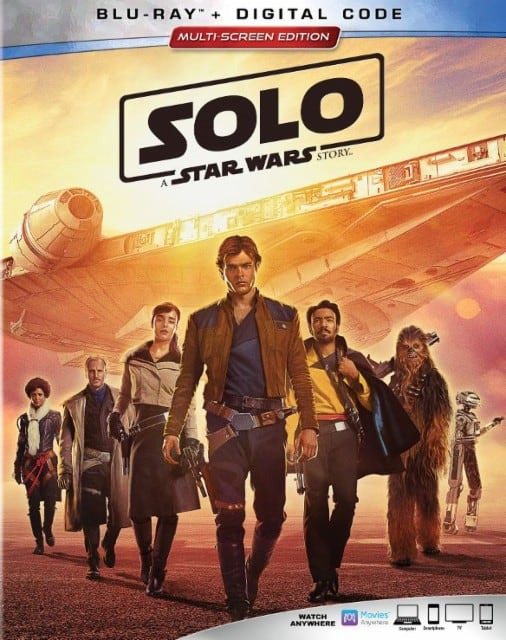 solo a star wars movie on bluray Solo: A Star Wars Story Movie and Hasbro Game Night