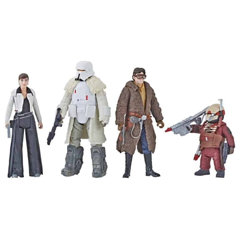 star wars action figures Solo: A Star Wars Story Movie and Hasbro Game Night