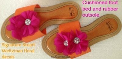 stuart weitzman rose water sandals review