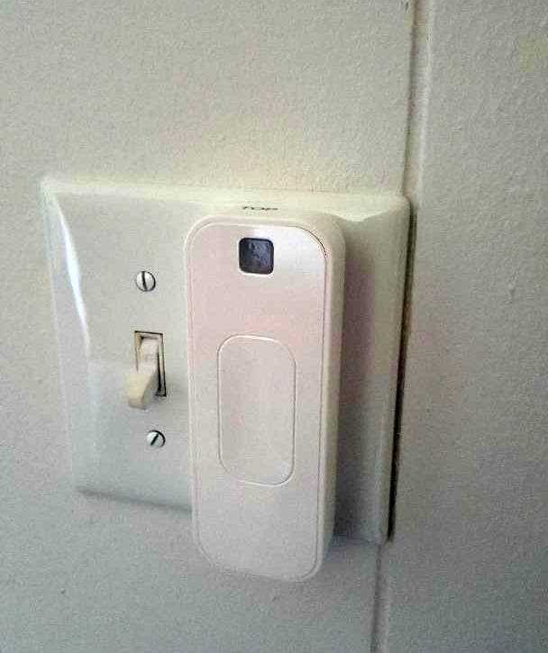 switchmate light switch installed
