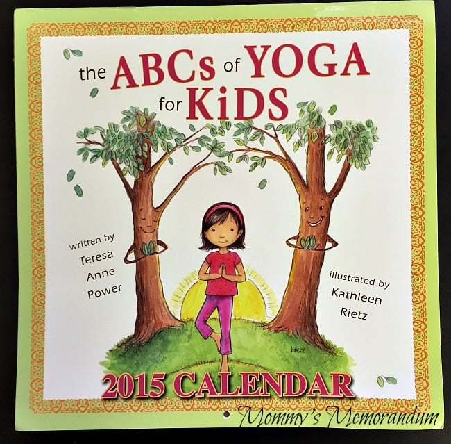 the ABCs of Yoga for Kids 2015 Calendar