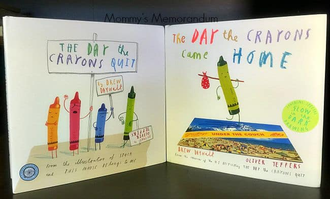 the day the crayons quit books