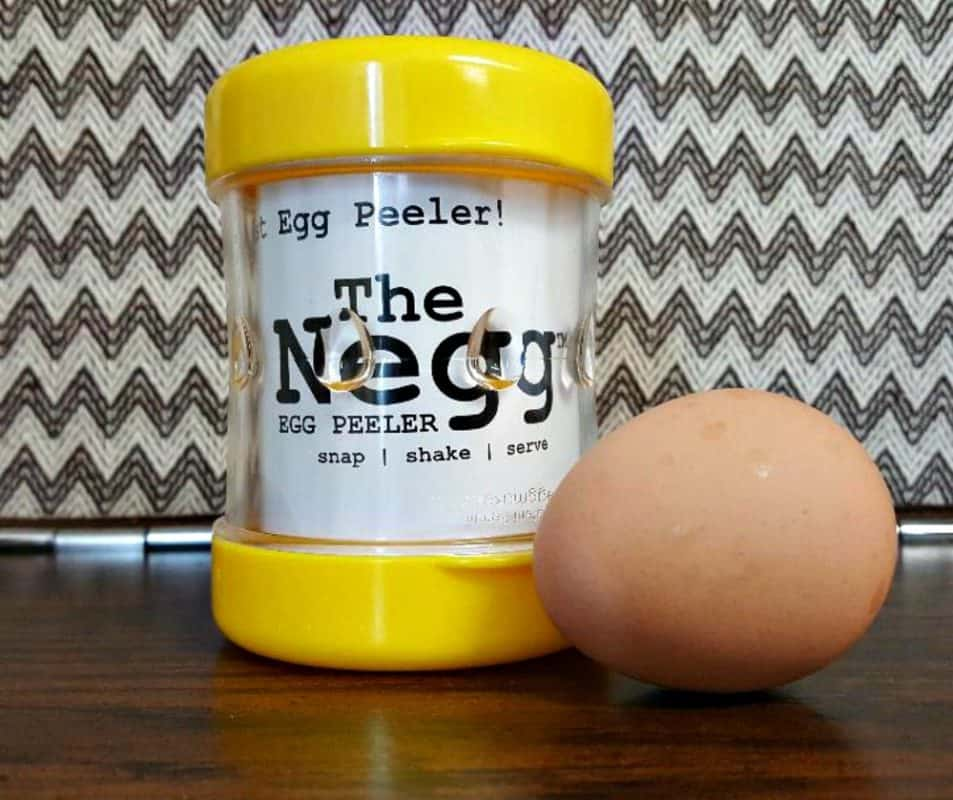 the negg with hard boiled egg