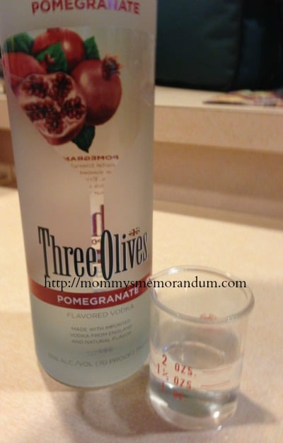 three olives pomegranate