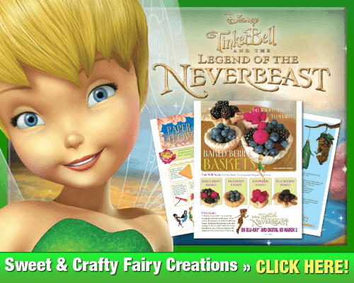 tinkerbell and the neverbeast activity sheets