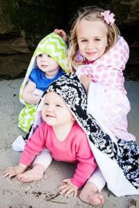 bella bundles hooded towel