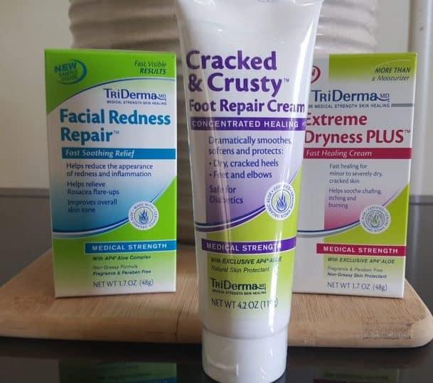 Triderma facial redness repair reviews for