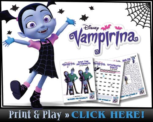 Free Printable Vampirina Activity Sheets Mommy S Memorandum