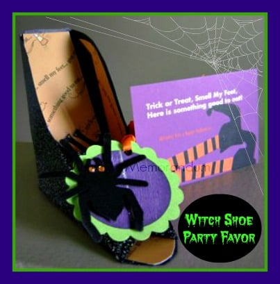 how to make witch shoes