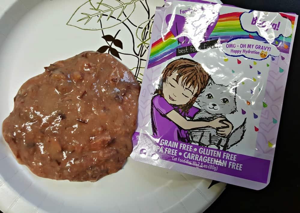 weruva gravy pack showing whats inside
