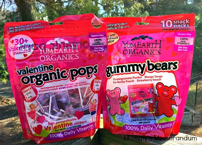 YumEarth Organic Lollipops and GummyBears for Valentine's ...
