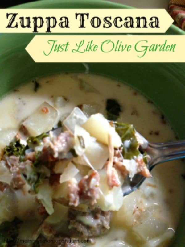 Zuppa Toscana Recipe Just Like Olive Garden Mommy 39 S Memorandum